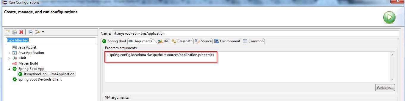 boot spring application.properties parametre